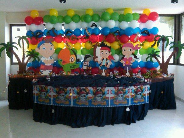 Fiesta infantil jake y los piratas - Imagui