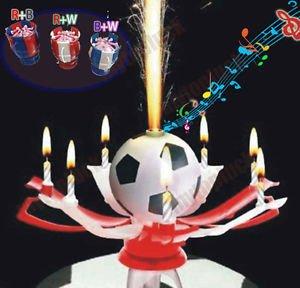 Vela Musical Futbol