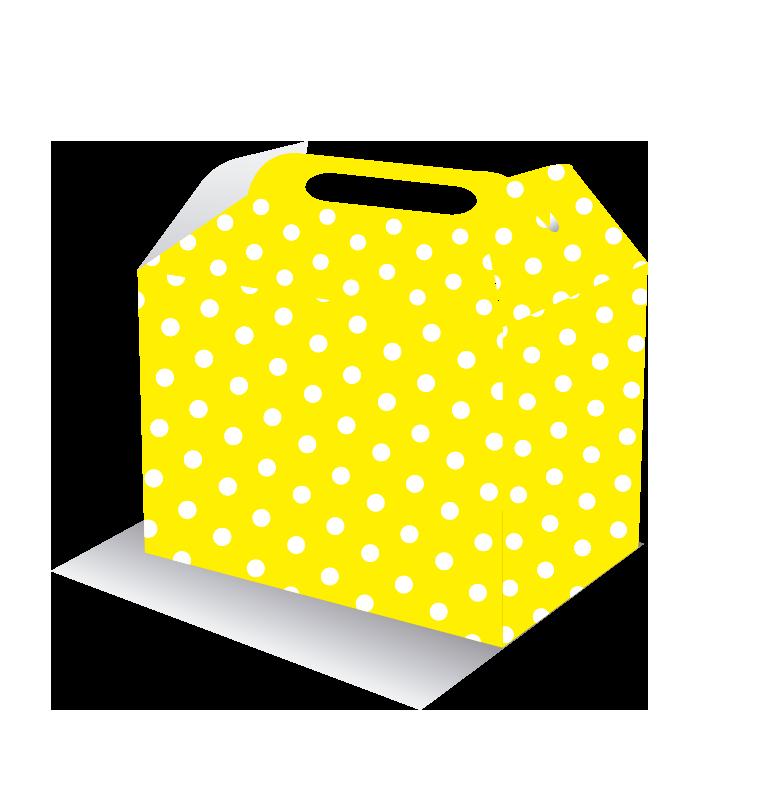 Caja feliz amarilla