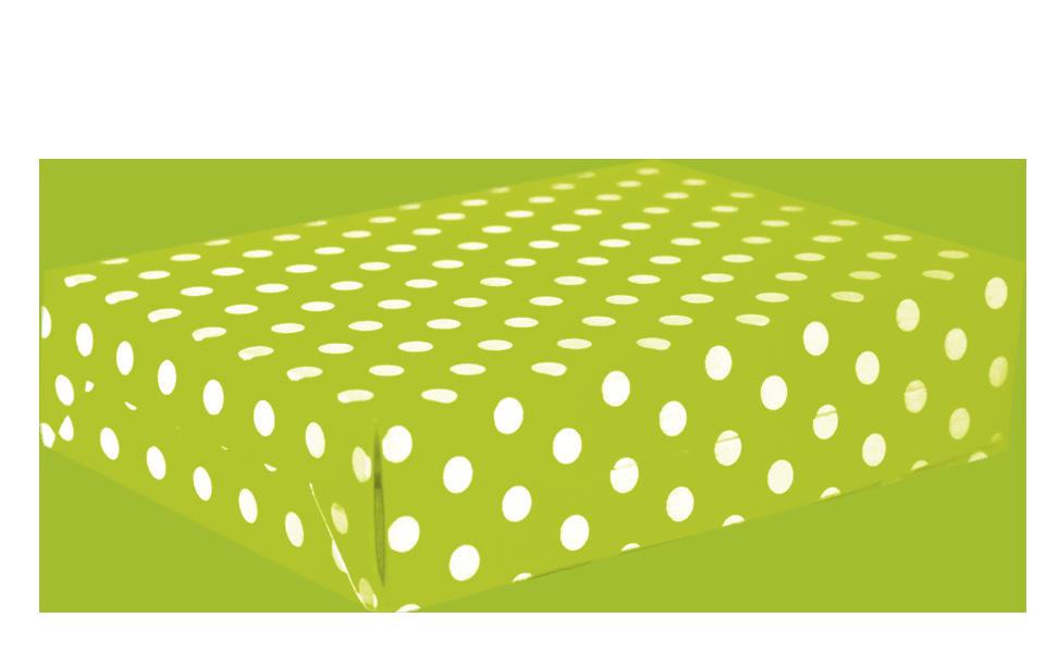 Caja para torta polka limon